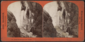 Behind the Horseshoe Fall, winter, by Barker, George, 1844-1894.png