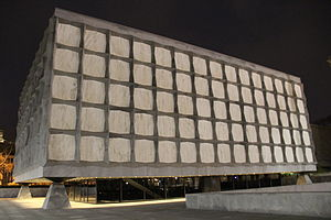 Yale University Library - Beinecke Rare Book Library