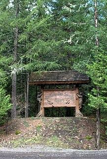 Belknap Springs, Oregon Unincorporated community in Oregon, United States