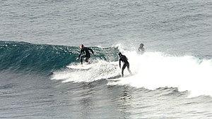 Surfing in Australia - Bells Beach, Victoria surfers