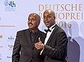 Bemjamin Dibaba & Yared Terfa Dibaba - Deutscher Radiopreis Hamburg 2016 03.jpg