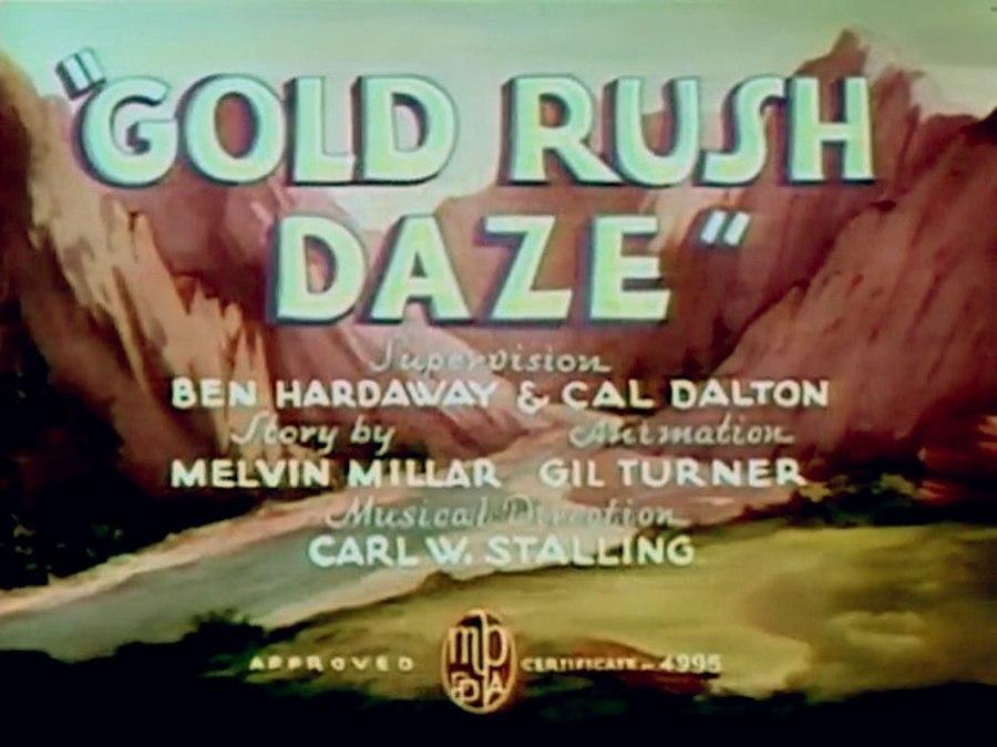 Gold Rush Daze