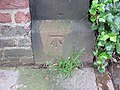 Bench mark in Mersey Road, Aigburth (geograph 3060771).jpg