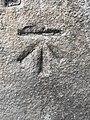 Benchmark at 34 Rochdale Road, Todmorden.jpg