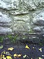 Benchmark on wall on south side of Faringdon Road - geograph.org.uk - 2093974.jpg