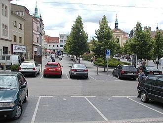 Benešov - Image: Benesov square