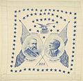 "Benjamin Harrison-Morton ""1888"" Portrait Handkerchief (4360016094).jpg"