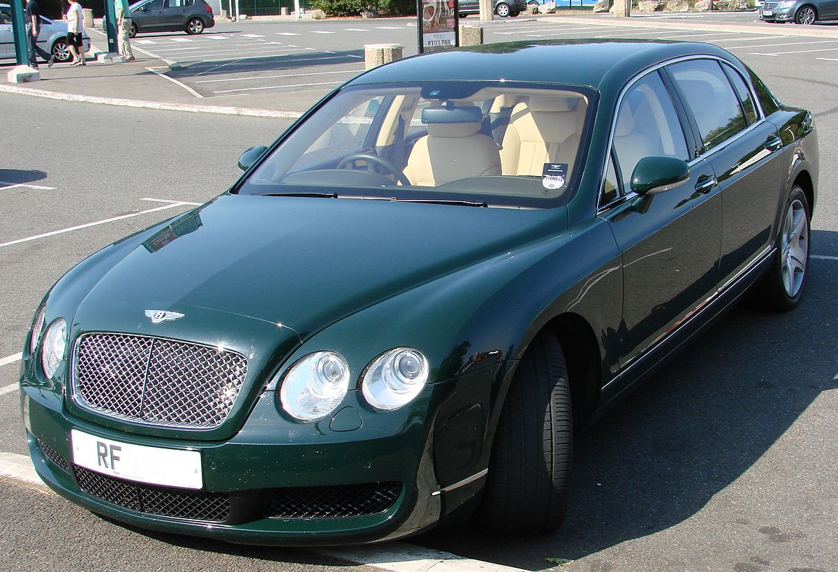 bentley continental flying spur wikipedia wolna encyklopedia