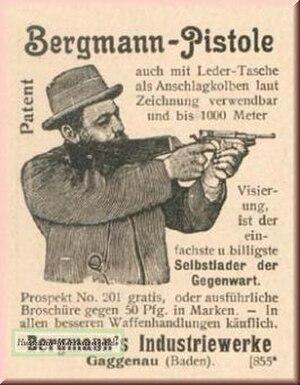 Theodor Bergmann - Bergmann advertising 1900