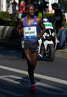 Eliud Kiptanui Kenyan long-distance runner
