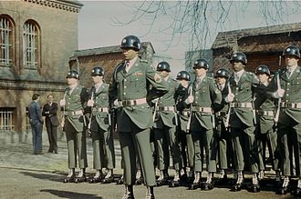 Berlin Brigade - Soldiers of the Berlin Brigade guarding Spandau Prison