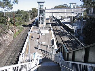 Berowra, New South Wales - Berowra railway station