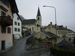 Lavey-Morcles - Image: Bex Eglise