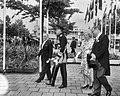 Bezoek President Bourguiba van Tunesie, v.l.n.r. Bourguiba, prins Bernhard , kon, Bestanddeelnr 919-3257.jpg