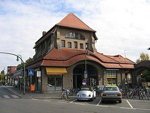 Berlin-Frohnau station - Image: Bf b frohnau
