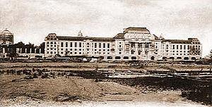 Bancroft Hall - US Naval Academy, Bancroft Hall (ca. 1908)