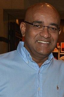 Bharrat Jagdeo President and Prime Minister of Guyana