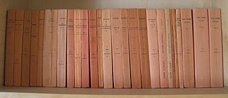 Collection Budé - A collection of Latin authors of the Budé series