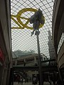 Bicycle motif and horse statue, Trinity Leeds (27th April 2018).jpg
