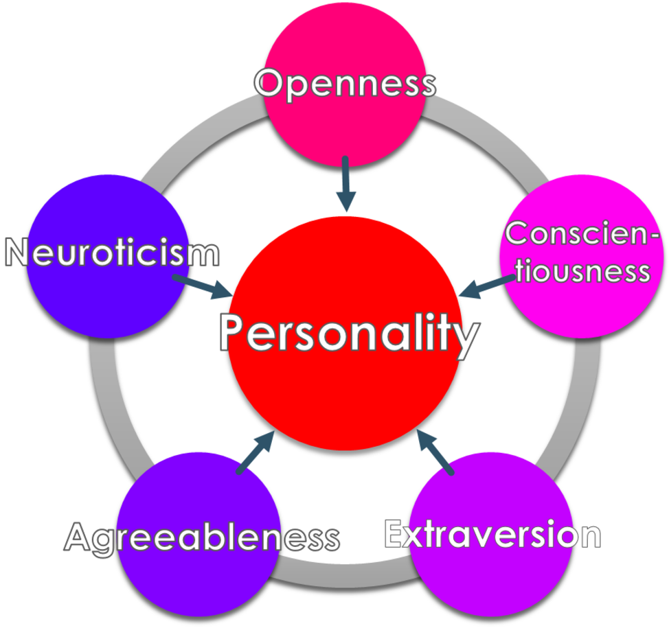 an analysis of the personality of nelson mandela using the big five personality trait model In terms of jung's second personality dimension, mandela's leanings are most definitely intuitive (ie readily seeing the big picture/global patterns, integrating issues and events and grasping future implications.