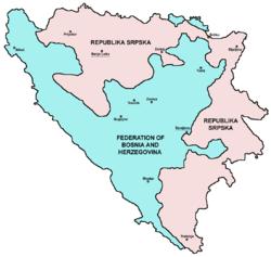 Bosnien strider hotar vapenvila