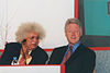 Bill Clinton with Professor Lord Meghnad Desai (Joint Chair).jpg