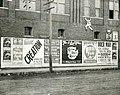 Billboard in Camden, Arkansas advertising attractions at the 1904 World's Fair in St. Louis.jpg