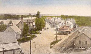 Ossipee, New Hampshire - Center Ossipee c. 1915