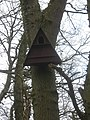 Birdbox in Broxham Wood - geograph.org.uk - 1754611.jpg