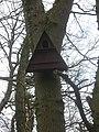 Birdbox in Broxham Wood - geograph.org.uk - 1754611.jpg