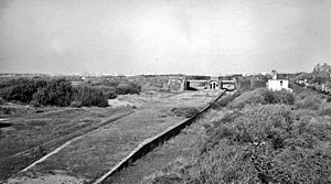 Birkdale Palace railway station - Remains of the station in 1964