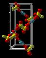 Bis(fluorosulfato-κO)xenon-unit-cell-3D-balls.png