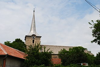 Teiuș - Image: Biserica reformata Teius