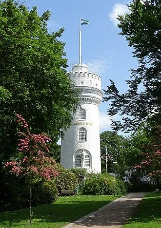 Aumühle - Bismarck tower in Aumühle