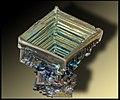 Bismuth Cristal artificiel GLAM MHNL Minéralogie FL 2016 A 01.jpg