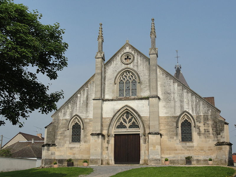Church of Bisseuil (Marne)