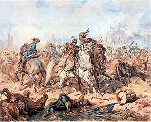 Bitwa pod Parkanami (obraz Juliusza Kossaka)
