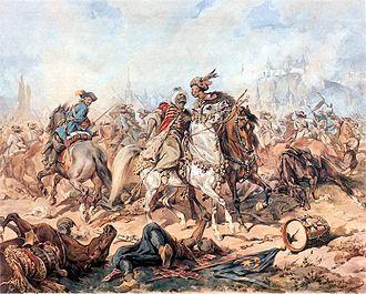 Battle of Párkány - Battle of Párkány by Juliusz Kossak