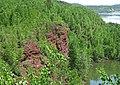 Biwabik Iron-Formation (Paleoproterozoic, ~1.878 Ga; Pillsbury Mine, Chisholm, Mesabi Iron Range, Minnesota, USA) 2 (23018459543).jpg