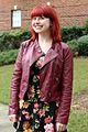 Black Floral Print Dress and a Burgundy Faux Leather Jacket (22506865756).jpg
