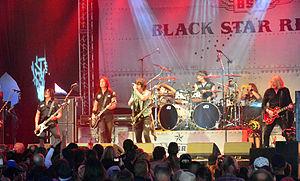 Black Star Riders - Black Star Riders performing at Wacken Open Air 2014.