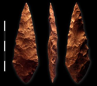 Middle Stone Age - Middle Stone Age tool from Blombos Cave