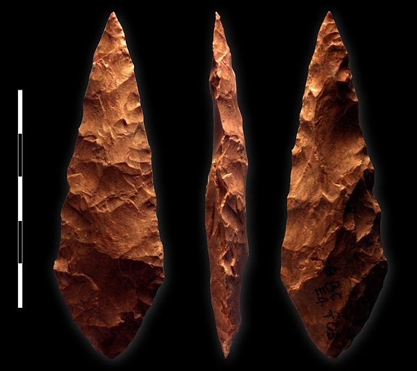 Blombos Was Found Red Ochre Paint Pots