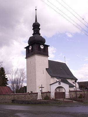 Bobrůvka (Žďár nad Sázavou District) - Image: Bobrůvka 3