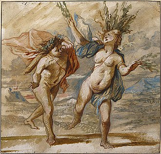 Laurel wreath - Apollo and Daphne