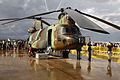 Boeing Vertol CH-47D Chinook (HT.17-12 - ET-412) de las Fuerzas Aeromóviles del Ejército de Tierra (FAMET) (15539485132).jpg