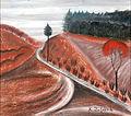 Bohacek, Karel - Krajina s cestou.jpg