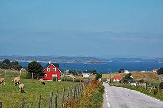 Bokn - View of Vestre Bokn island