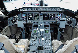 Bombardier Global Express - Flight deck
