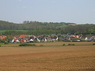 Willebadessen - Borlinghausen seen from the Eggegebirge